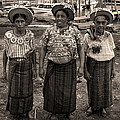 Three Women In Atitlan by RicardMN Photography