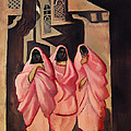 Three Women On The Street Of Baghdad by Mountain Dreams