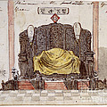 Throne by British Library