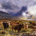 Through Glencoe By  Way To The Tay by Louis Bosworth Hurt