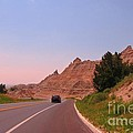 Through The Badlands Of South Dakota by John Malone