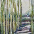 Through The Bamboo Grove by Jenny Armitage