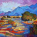 Through the Blue by Erin Hanson