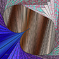 Through The Curtain by Douglas Christian Larsen