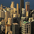 Through The Haze Chicago Shines by Christine Till