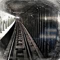 Through The Last Subway Car Window 3 by Tony Rubino