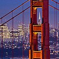 San Francisco Through The Letterbox by Alexis Birkill