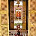 Through The Temple Doors India by Kim Bemis
