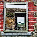 Through Windows At Charles Fort, Ireland by Marcus Dagan