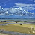 Thumpertown Beach Lowtide by Allen Beatty