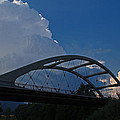 Thunder Over The Rogue River Bridge by Mick Anderson
