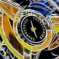 Thunderbird Spokes Fractal by Ricky Barnard