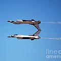 Thunderbirds Jet Team Perfect Symmetry by Debra Thompson
