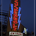 Thunderbolt Rollercoaster Neon Sign by Edward Fielding