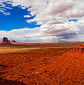 Thunderstorm Artist's Point Monument Valley by Troy Montemayor