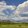 Thunderstorm Clouds Boiling Over The Colorado Rocky Mountains by James BO  Insogna