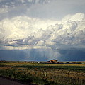 Thunderstorm On The Plains by Joyce Dickens