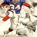 Thurman Thomas by Brian Reaves