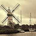 Thurne Windmill IIi by Phyllis Taylor