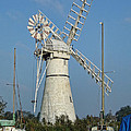 Thurne Windpump by Phyllis Taylor