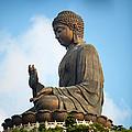 Tian Tin Buddha, Po Ling Monastery by Huw Jones