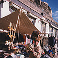 Tibet Market At Gyantse By Jrr by First Star Art