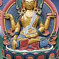 Tibetan Buddhist Deity by Tim Gainey