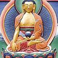 Tibetan Buddhist Deity Wall Sculpture by Tim Gainey