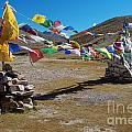 Tibetan Buddhist Prayer Flags by Yew Kwang