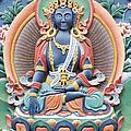 Tibetan Buddhist Temple Deity by Tim Gainey