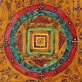 Tibetan Mandala by Isaac Khadya