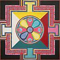 Tibetan Mandala by Maya B