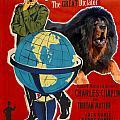 Tibetan Mastiff Art Canvas Print - The Great Dictator Movie Poster by Sandra Sij