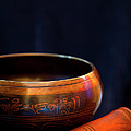 Tibetan Singing Bowl by Theresa Tahara