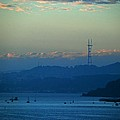 Tiburon's View Of Sutro Tower by Eric Tressler