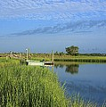 Tidal Marsh Wrightsville Beach by Mountains to the Sea Photo