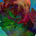Tie Dye Rose by Kristie  Bonnewell