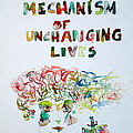 Tied To A Mechanism Of Unchanging Lives by Fabrizio Cassetta