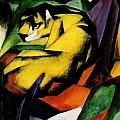 Tiger 1912 by Franz Marc
