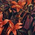 Tiger Lilies by Konnie Kim