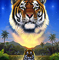Tiger Of The Lake by MGL Meiklejohn Graphics Licensing