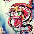 Tiger Snake by Britt Kuechenmeister