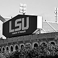 Tiger Stadium - Bw by Scott Pellegrin