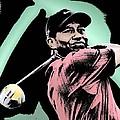 Tiger Woods by Tanysha Bennett-Wilson