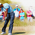 Tiger Woods - The British Open Golf Championship by Don Kuing