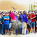 Tiger Woods - The Waste Management Phoenix Open At Tpc Scottsdal by Don Kuing