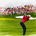 Tiger Woods - The Waste Management Phoenix Open  by Don Kuing