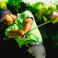 Tiger Woods - Wgc- Cadillac Championship by Don Kuing