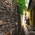 Tight Alley In Stone by Mats Silvan
