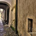 Tight Alley With Arch by Mats Silvan